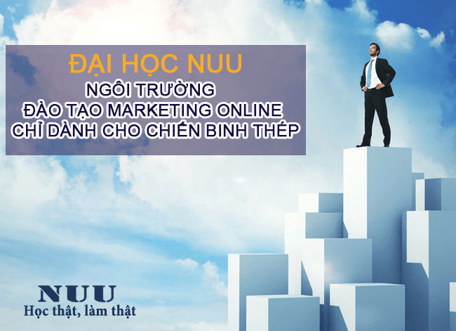 đại học nuu đào tạo marketing online